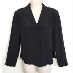 PETER COHEN Button Down Shirt Top Blouse 1509E2
